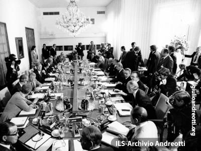 G7 di Bonn nei giorni 16-17 luglio 1978