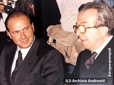 Con Silvio Berlusconi