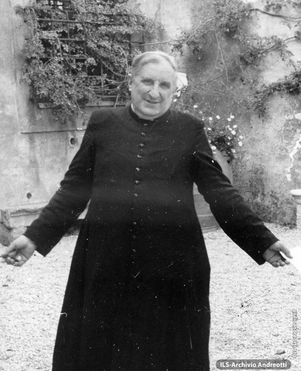 Mons. Giulio Belvederi, zio di Livia Danese e figura centrale per Andreotti e per tutta la sua famiglia.