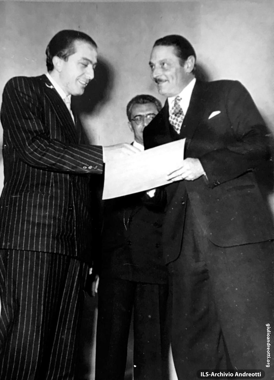 Premio a Alessandro Blasetti