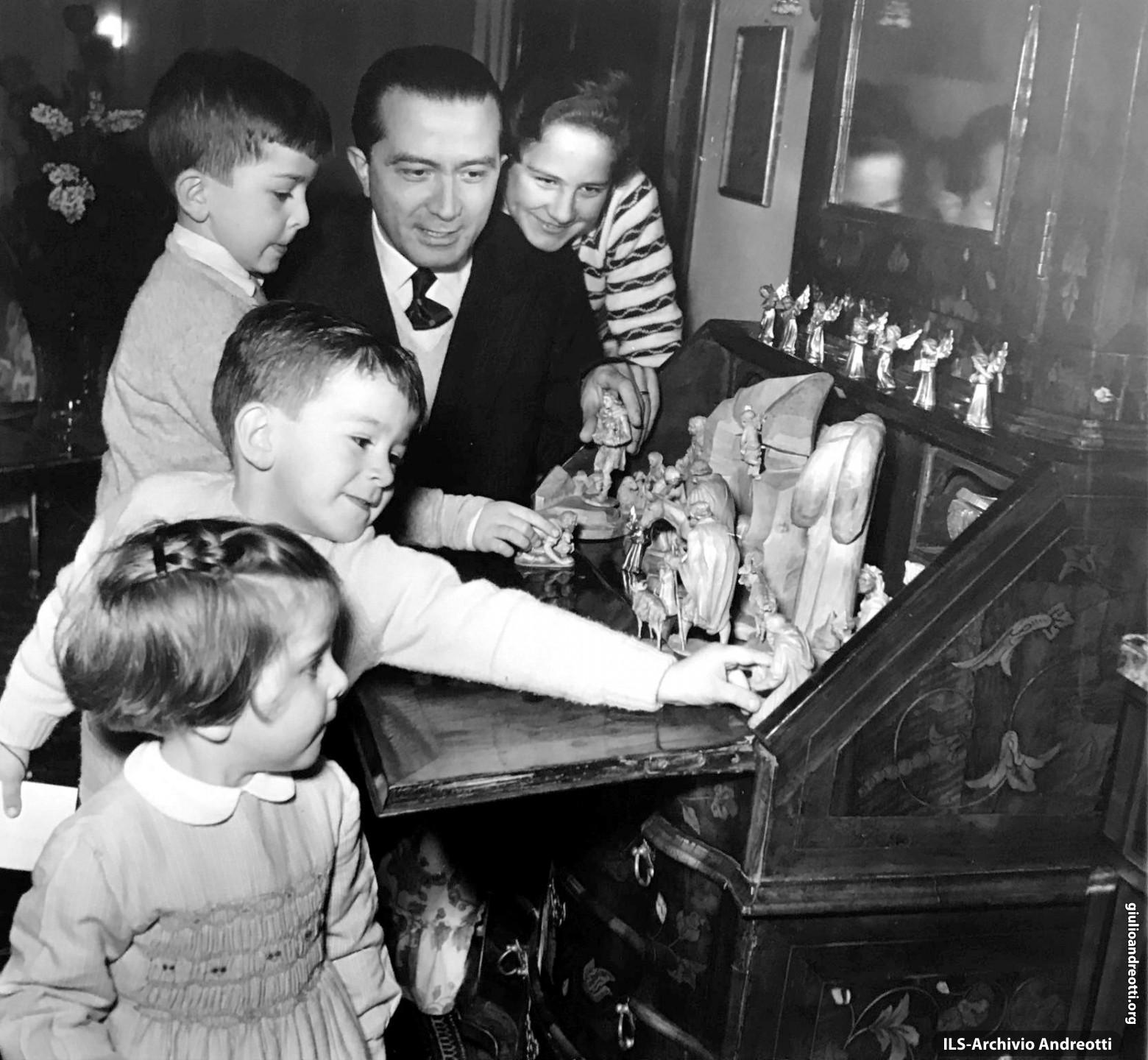1957. Natale in famiglia