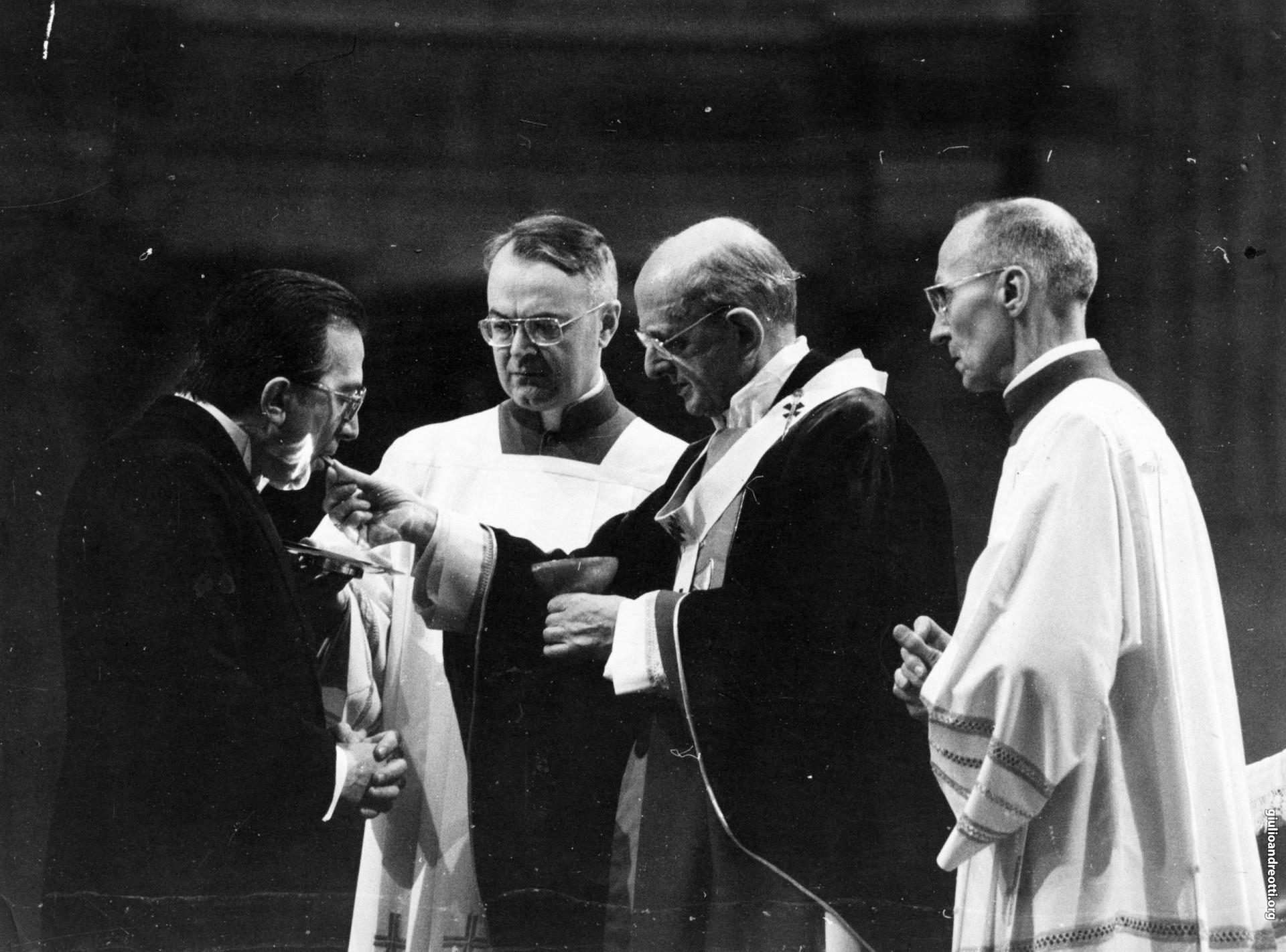 Agosto 1968. Congresso eucaristico di Bogotà (foto Giordani)