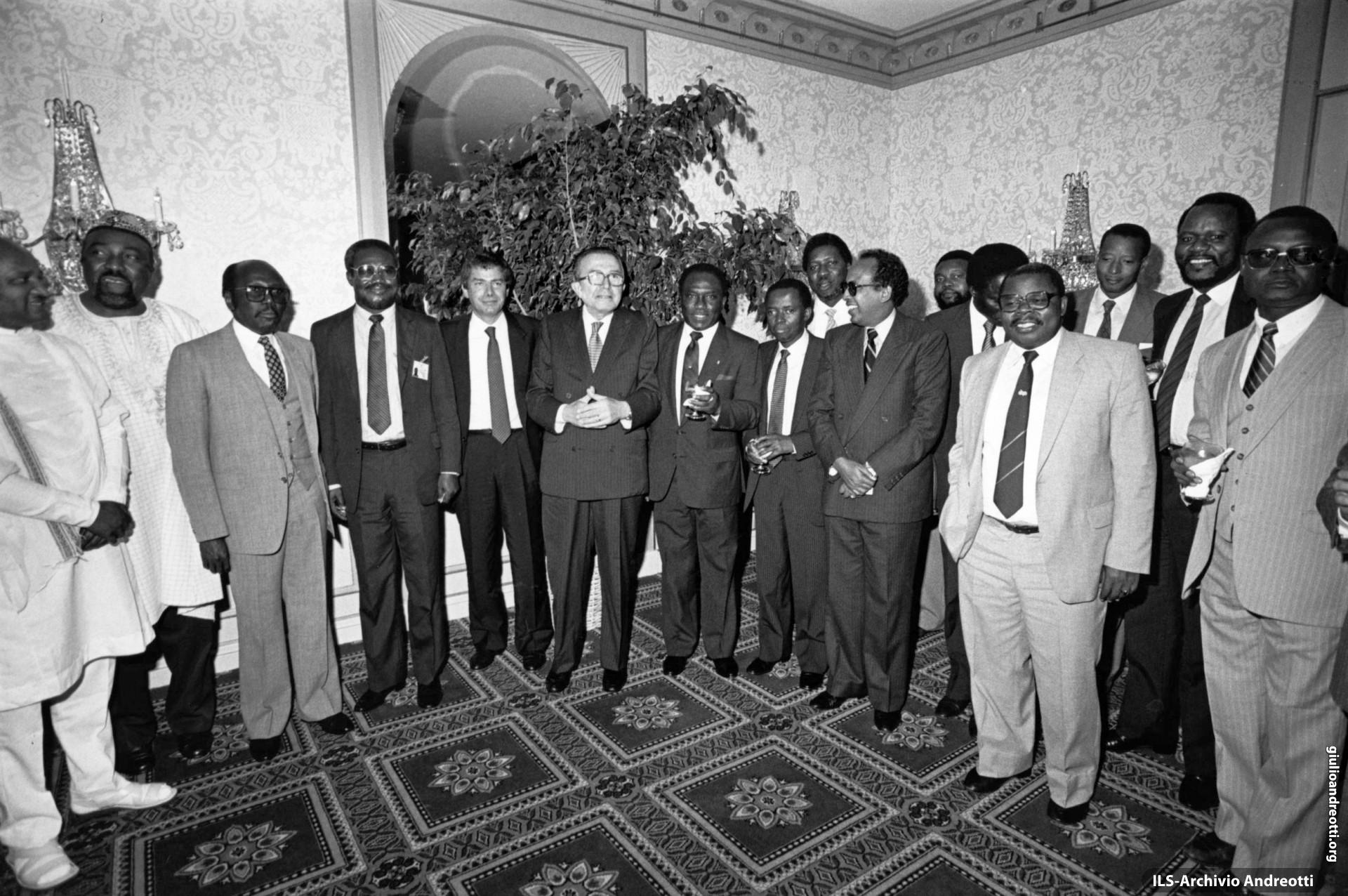 25 settembre 1986. Incontro ministeriale italo-africano a New York