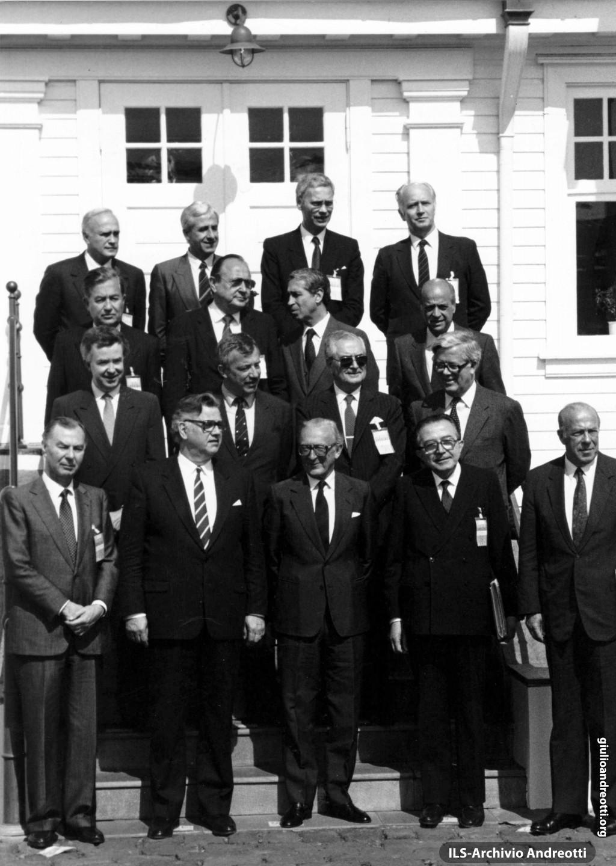 11 giugno 1987. Vertice dei ministri degli Esteri della NATO a Reykjavik