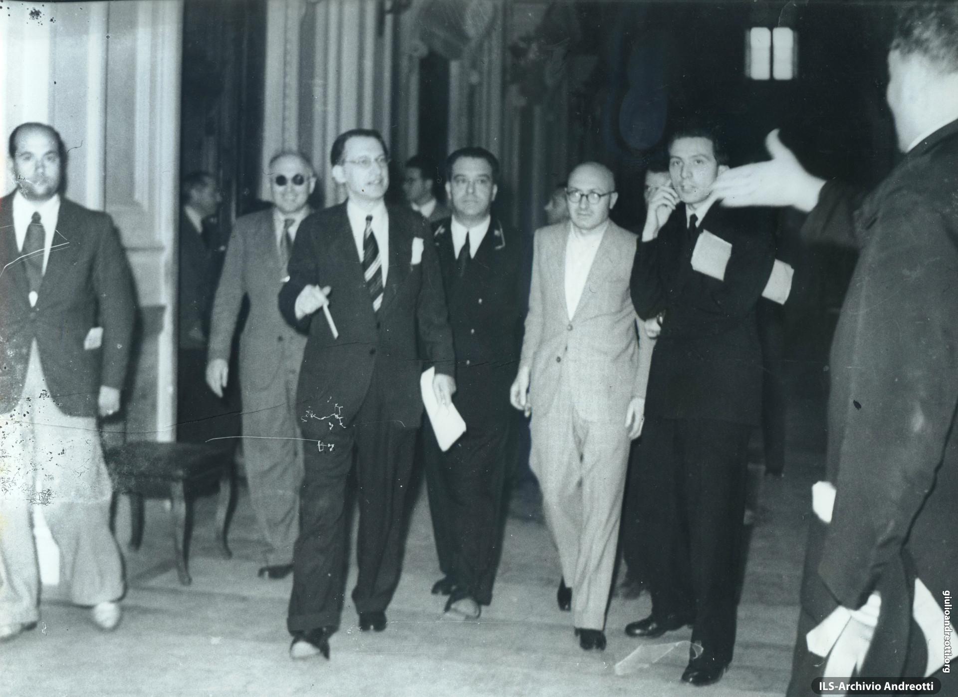 14 Giugno 1946. Ritorno di De Gasperi dalla Conferenza di Parigi.