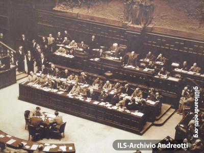 25 giugno 1946. Inaugurazione dell'Assemblea Costituente.