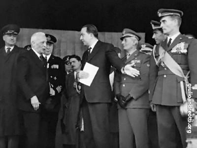 Con il Capo provvisorio dello Stato, Enrico De Nicola