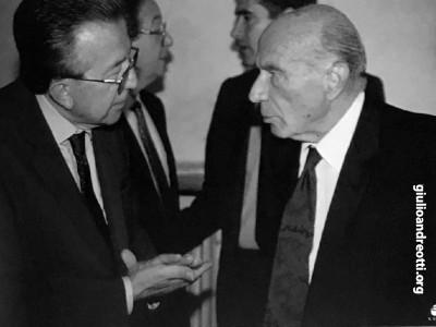 Con Guido Carli