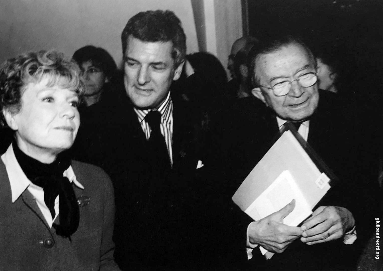 Con Dacia Maraini e Alain Elkann (Foto Marcellino Radogna)