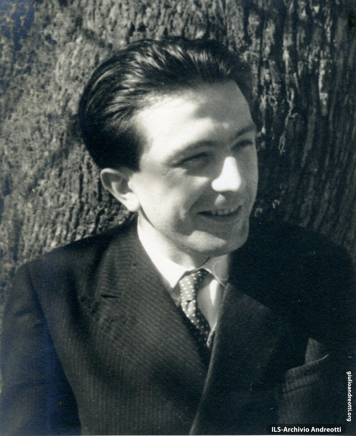 Andreotti nell'aprile 1948.