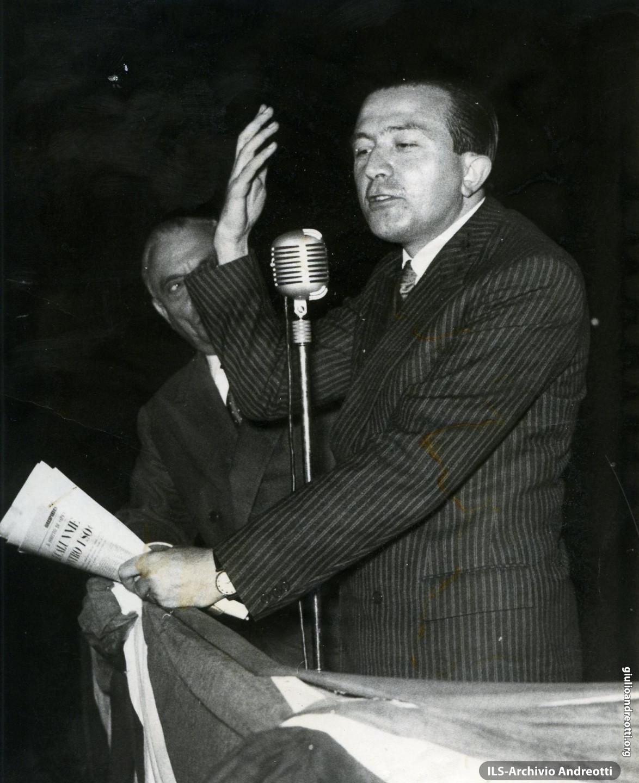 Comizio al Colosseo del 16 maggio 1959.