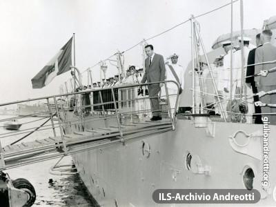 5 luglio 1962. Visita ufficiale ad Alexandria.