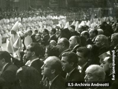 1962. Concilio Vaticano II a San Pietro.