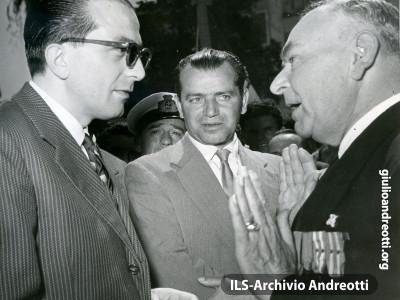 Gennaio 1963. Andreotti, Ministro della Difesa.