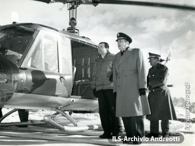 Manovre militari invernali nel 1964.