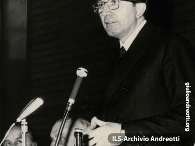 27 marzo 1966. Discorso di Andreotti.