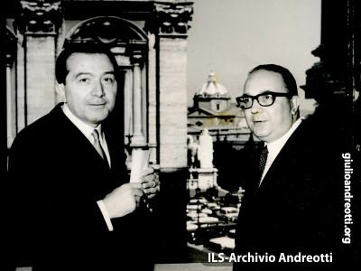 26 maggio 1966. Andreotti in Campidoglio.