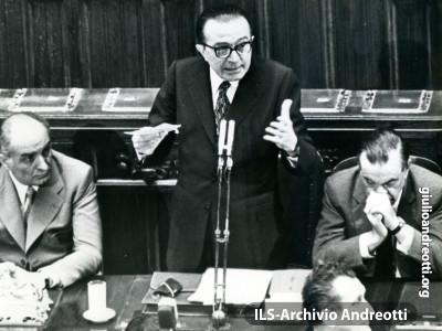 7 luglio 1972. Presentazione alla Camera del Governo Andreotti II.