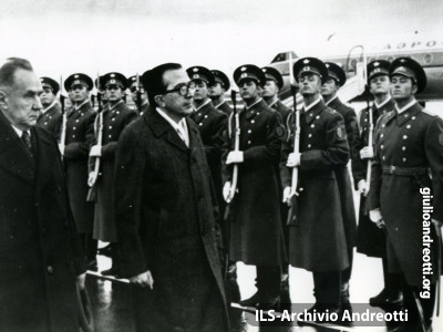 24 ottobre 1972. Visita ufficiale in URSS.