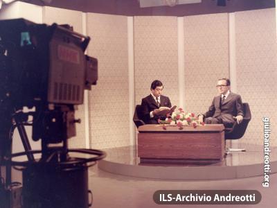 Intervista di Andreotti alla tv giapponese NHK, il 25 aprile 1973.