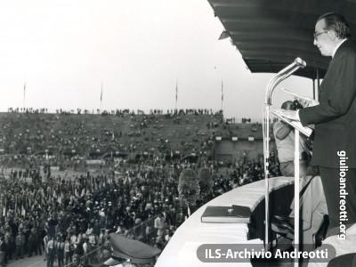Trentennale della Resistenza nel 1973.