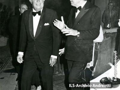 Andreotti con il Premier britannico Edward Heath nel 1973.
