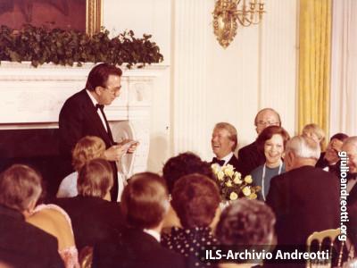 Visita ufficiale alla Casa Bianca il 26 giugno 1977.