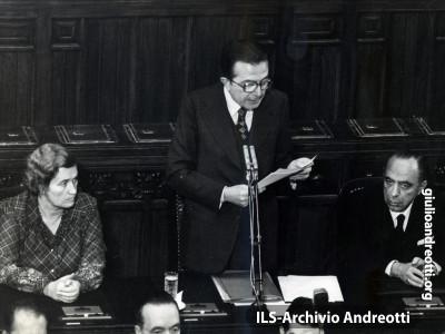 31 ottobre 1978. Relazione di Andreotti alla Camera