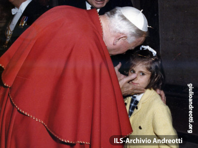 22 aprile 1984. Andreotti incontra Giovanni Paolo IIa.