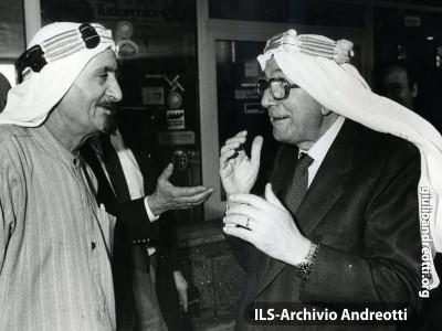 Marzo 1988. Giulio Andreotti a Palmira.