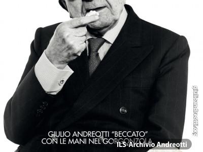 2002. Andreotti testimonial del consorzio produttore del formaggio gorgonzola.