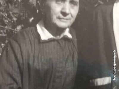 Mariannina, zia di Andreotti.