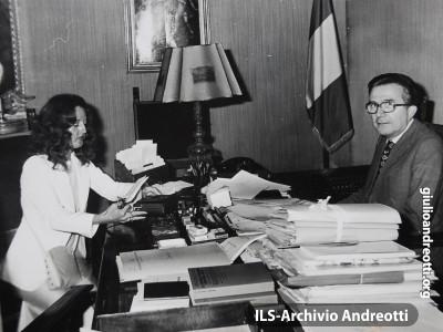 Intervista al Presidente del Consiglio Andreotti