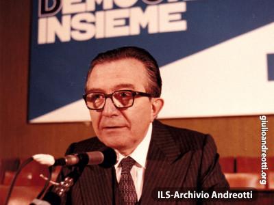 Festa dell'Amicizia della DC, Bari, aprile 1985.