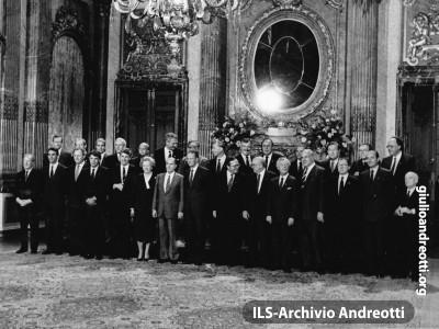 29 giugno 1987. Consiglio europeo di Bruxelles