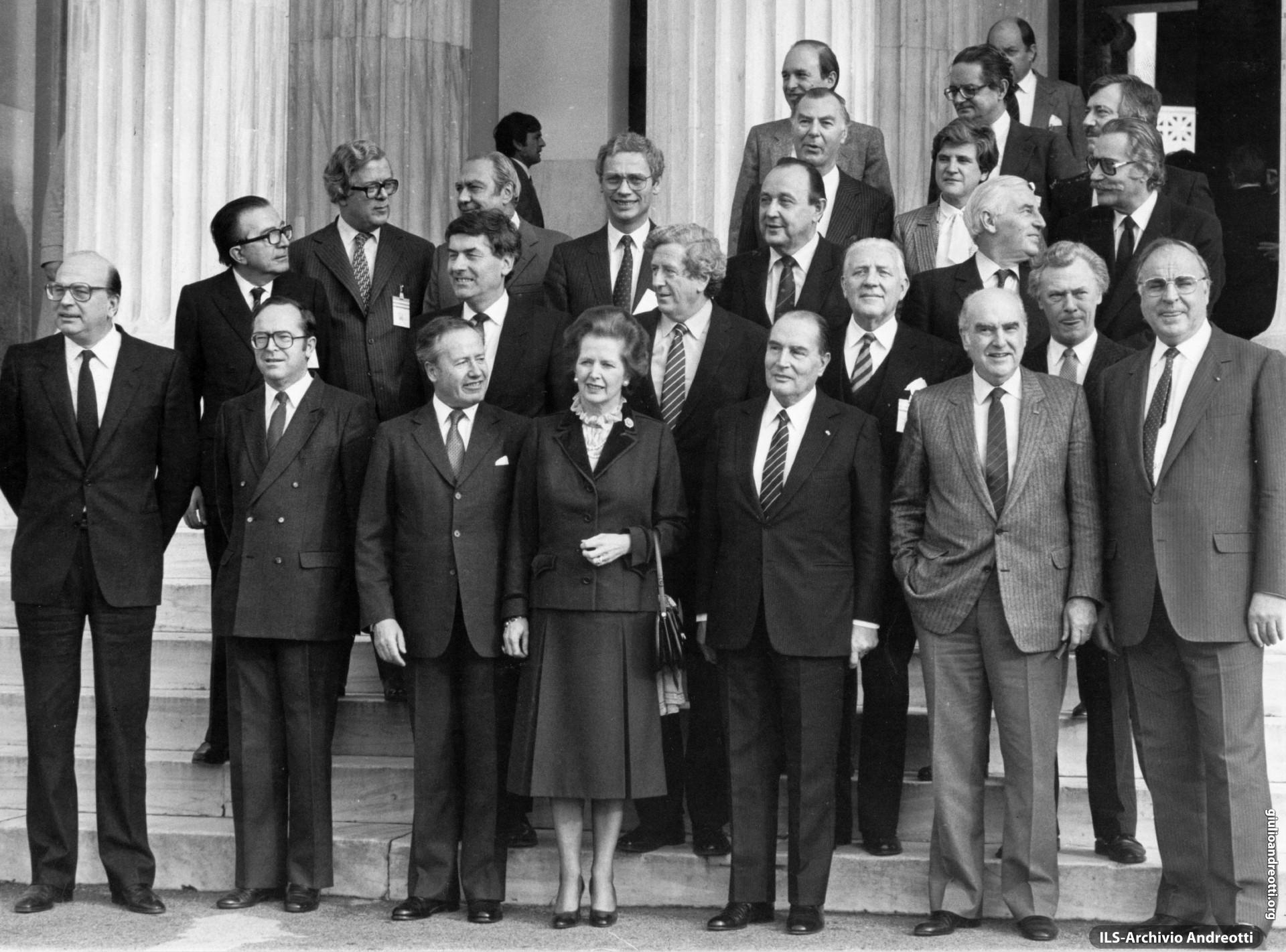 4 dicembre 1983. Consiglio europeo di Atene.